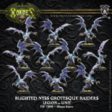 Leqion Grotesque Raiders OR Banshees (10) PLASTIC